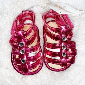 🌺 2/$20  NWT GYMBOREE | 1 Baby Gladiator Sandals